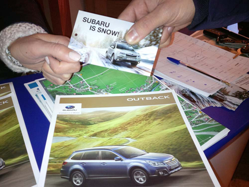 Subaru Snow Tour 2015 - Skipass