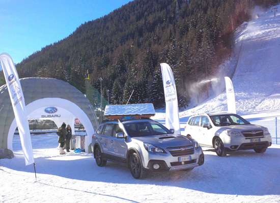 Subaru Snow Tour - Solarium