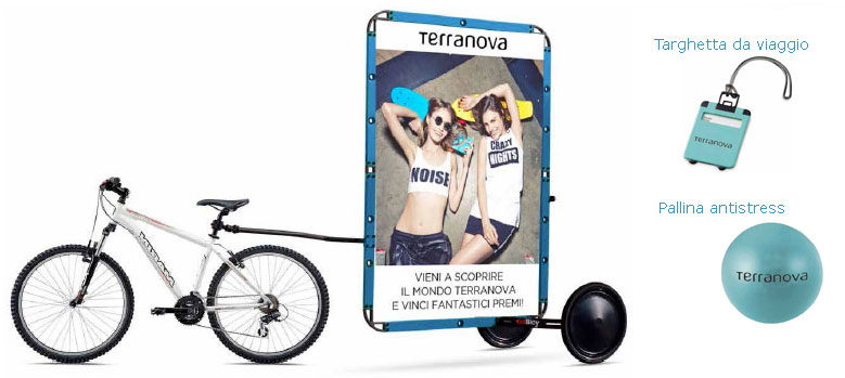 Terranova: bike e gadget
