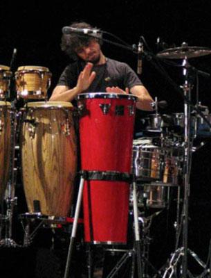 Terranova: live percussion