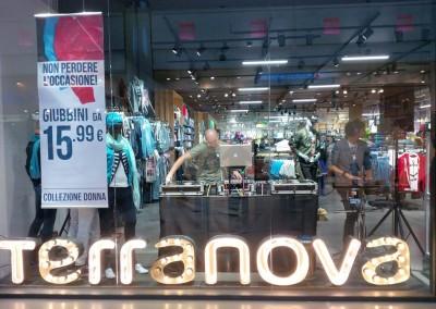 Opening Terranova Store