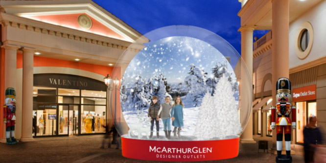 McArthurGlen: Magic Globe