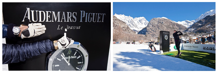 Audemars Piguet Snow Golf Exhibition 2016
