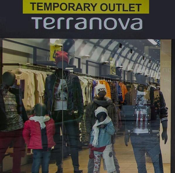 Terranova Temporary Outlet