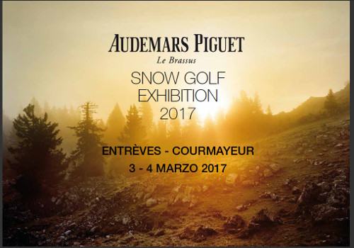 Audemars Piguet Snow Golf Exihibtion 2017
