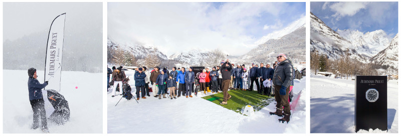 Audemars Piguet Snow Golf Exihibtion 2017