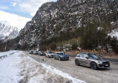 Mini Takes the Alpes