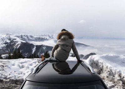 Mini Takes the Alpes