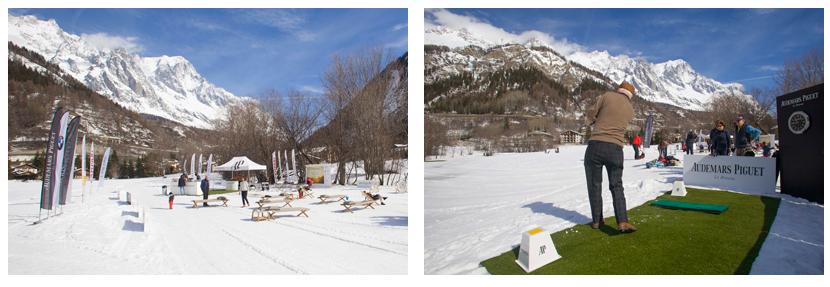 Audemars Piguet Snow Golf Exhibition 2018
