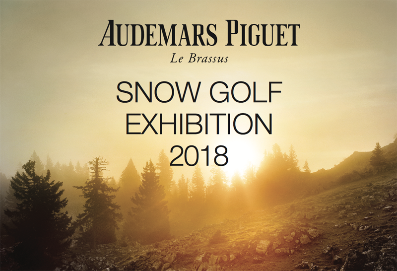 Audemars Piguet Snow Golf Exibition 2018