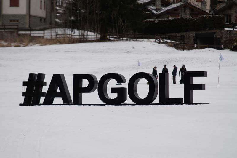Audemars Piguet Snow Golf Exhibition 2019