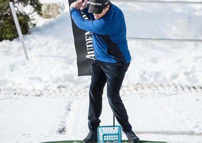 Audemars Piguet Snow Golf Exhibition 2019